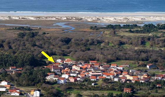 Casa alquiler en carnota costa da morte galicia costameiga - Alquiler de apartamentos en galicia ...